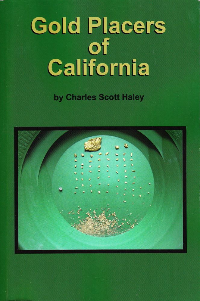 Gold Placers Of California Mining Geology Book Reprint 1923 Original Nonfiction Books Books Nonfiction