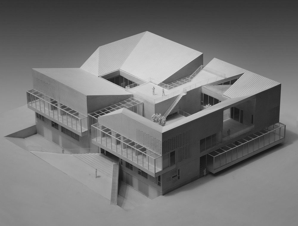 Architecture House Model the concave house / tao lei architect studio | concave, tao and