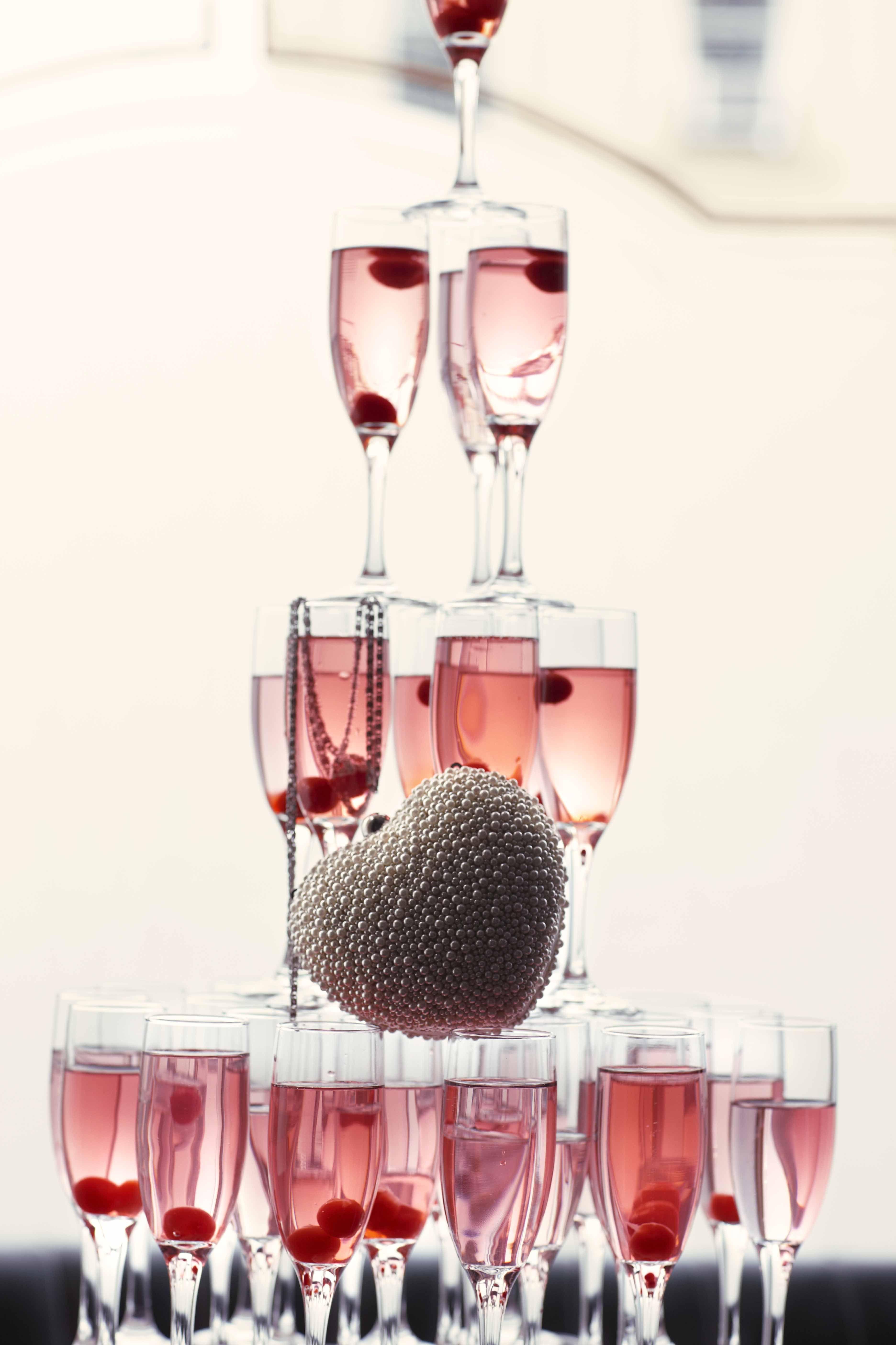 Vin d'honneur : muscador rosé