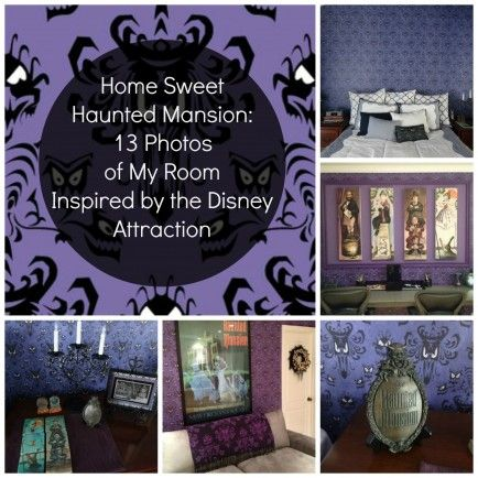 disney themed rooms by gingersnapgal on Pinterest   Disney ...  Haunted Mansion Themed Bedroom