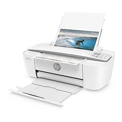 HP DeskJet 3720 Stampante Wireless All-In-One con Funzioni Stampa, Copia e Scansione, Risoluzione 4800X1200, Grigio Perla: Amazon.it: Informatica