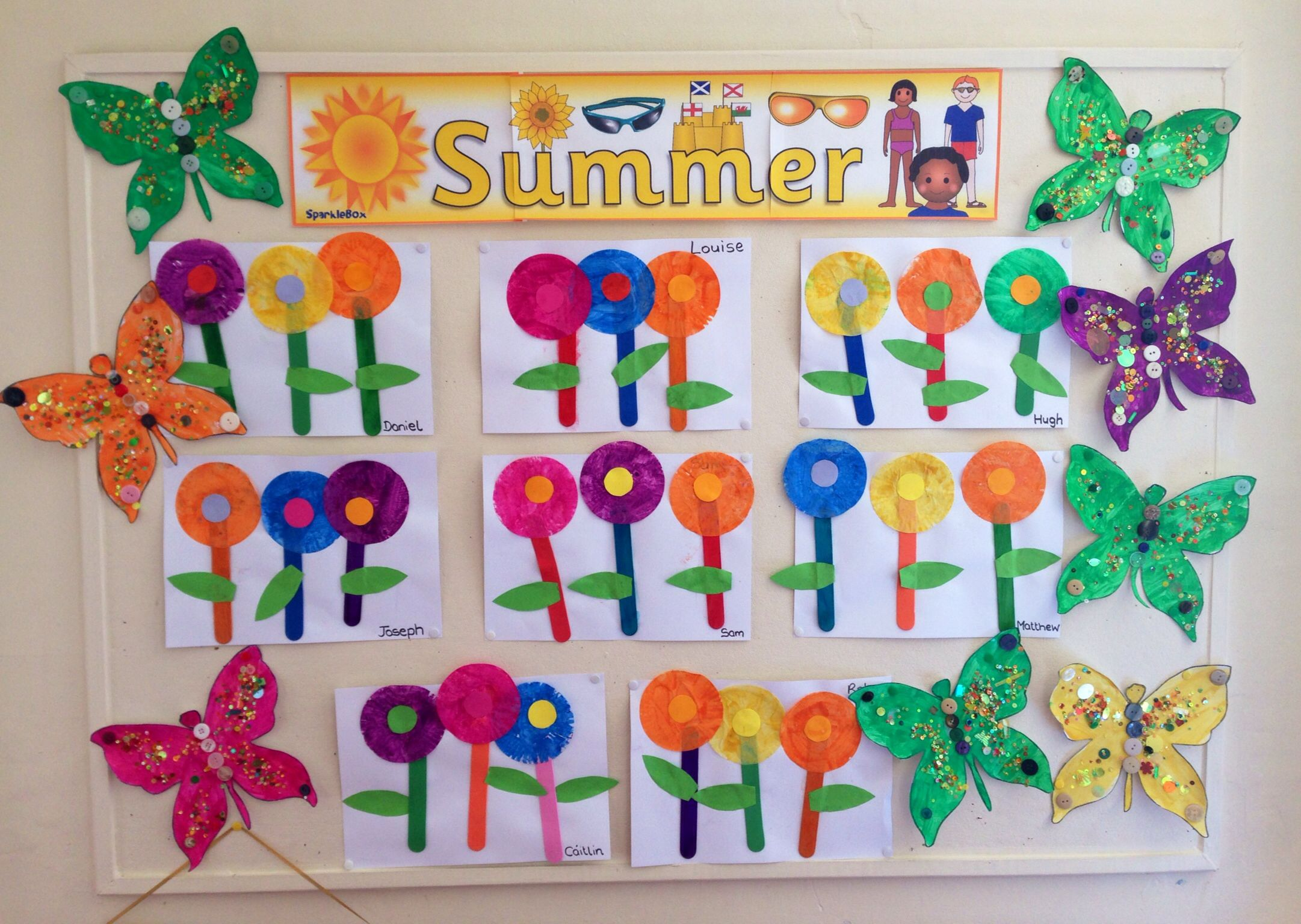 Montessori Summer Crafts