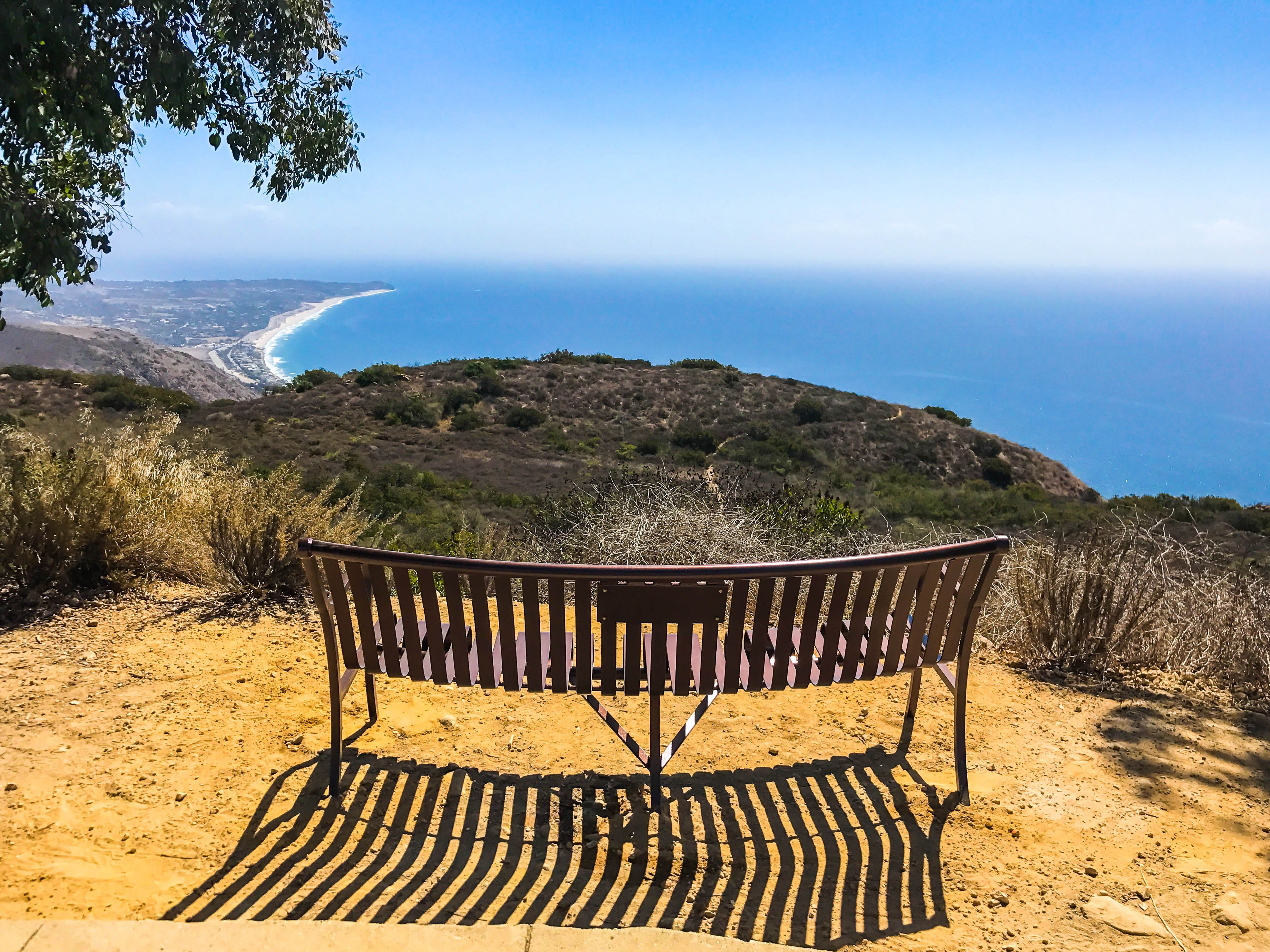 Views From The Bench In 2020 Landscape Design Memorial Benches Ocean View