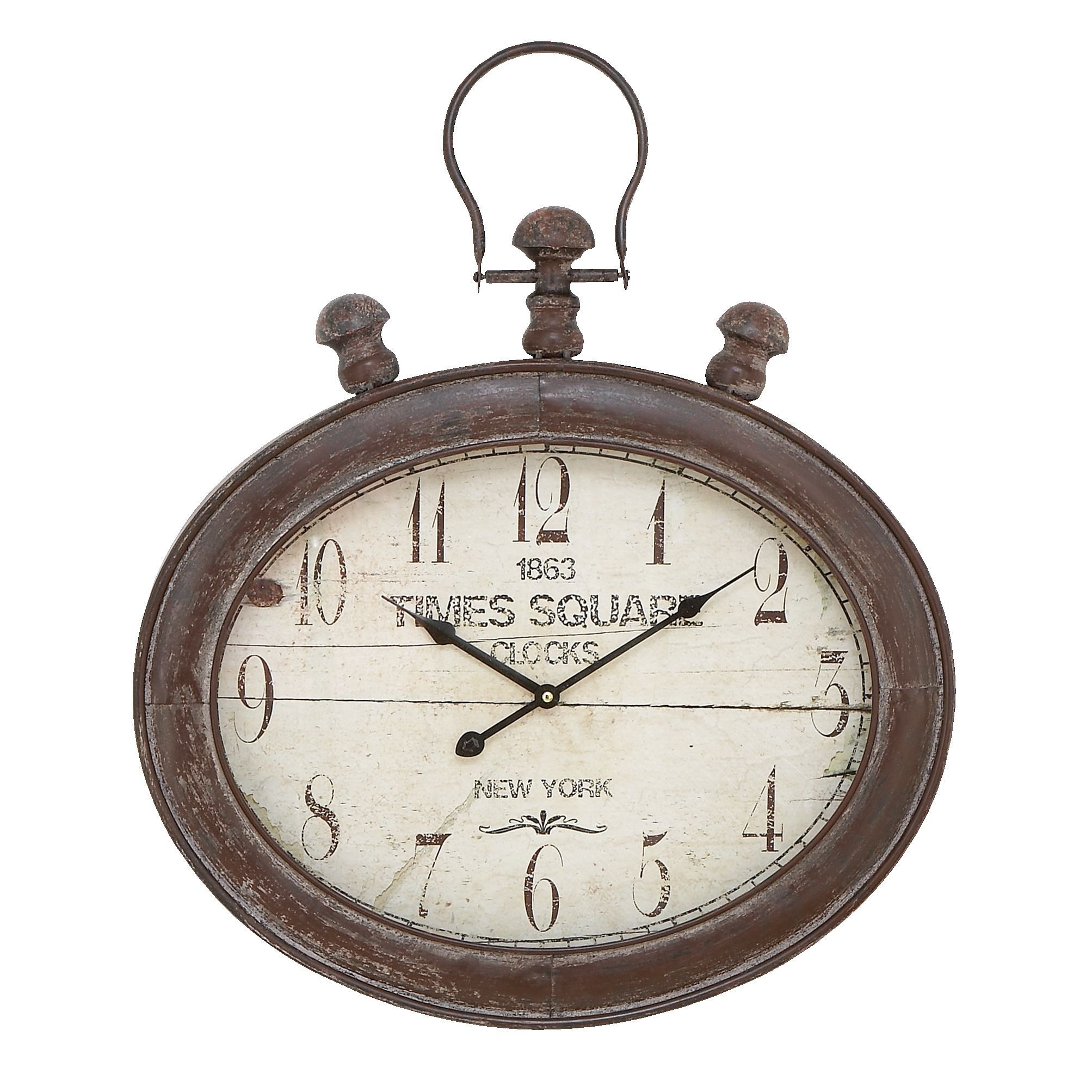 Traditional 21 Inch Stopwatch Style Wall Clock By Studio 350