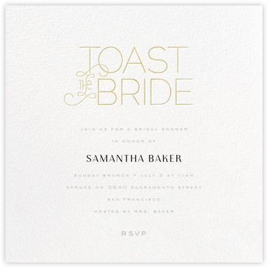 bridal shower invitations paperless post