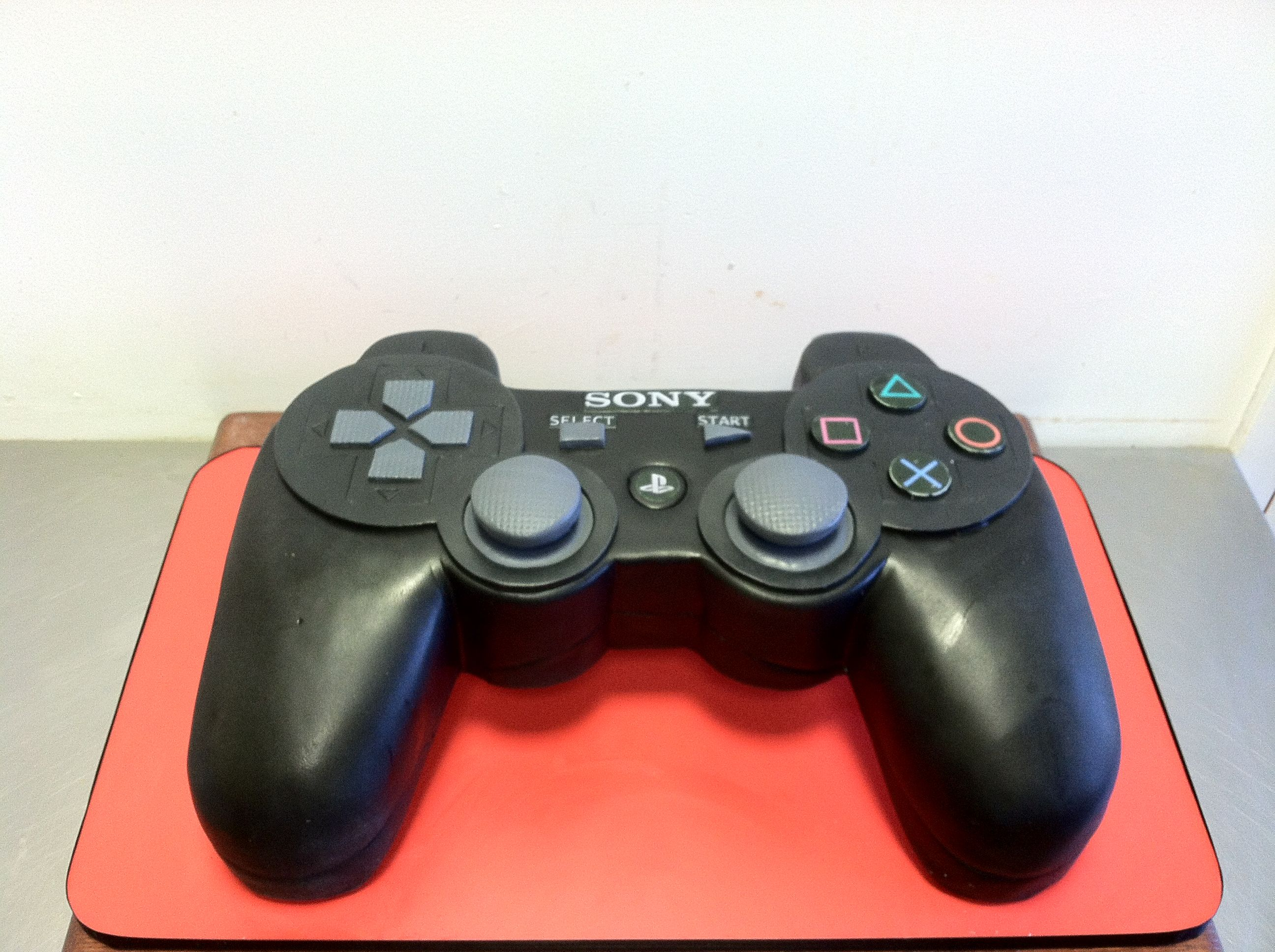 Playstation 3 controller cake plus