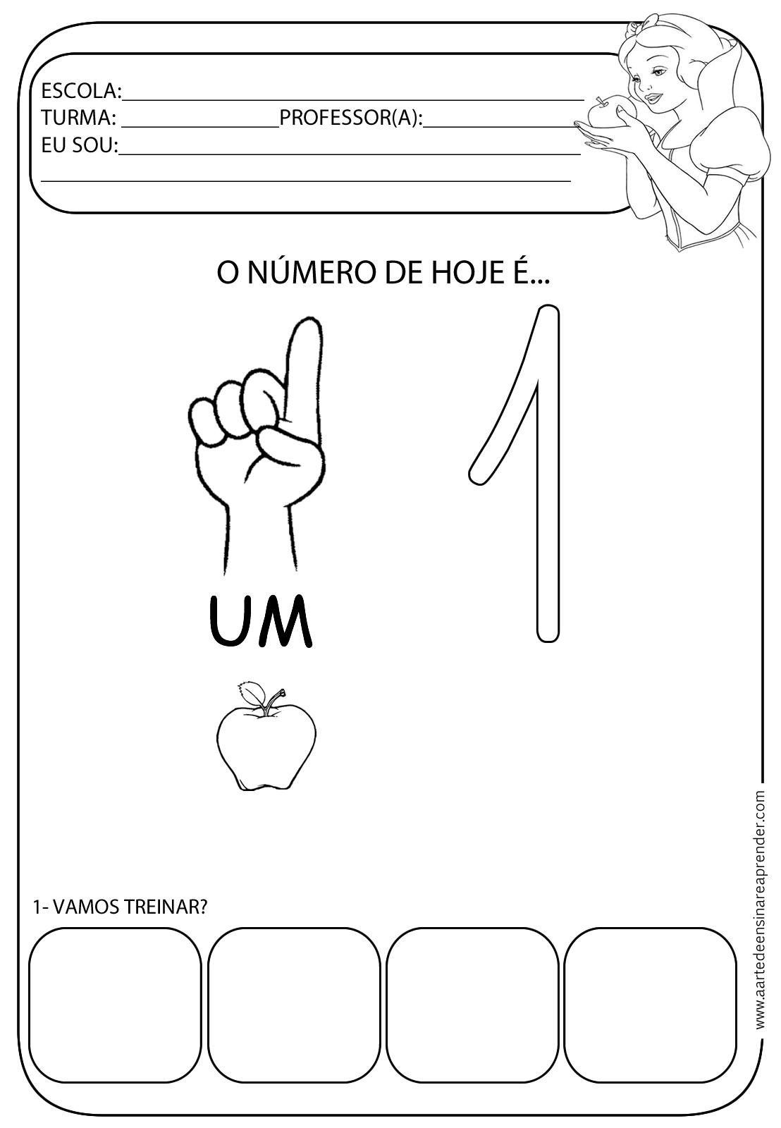 Fabuloso NUMERAL+1.png (1108×1600) | infantil 3 | Pinterest | Atividades  GA56