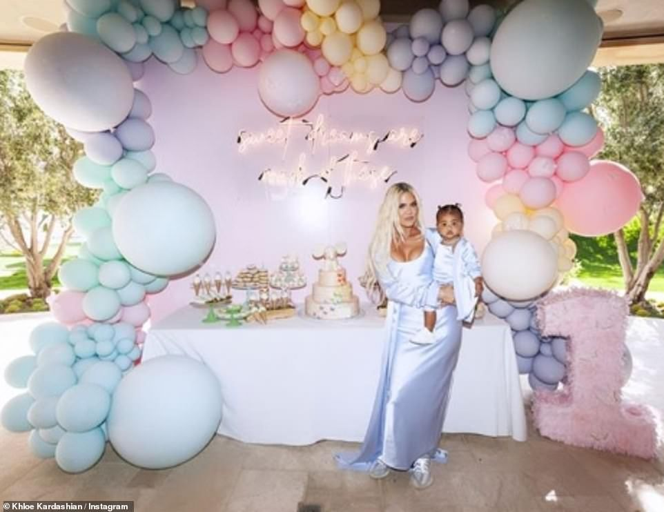 Khloe Kardashian shares more pictures from daughter True's