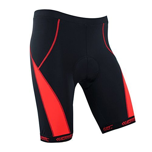 Men S Cycling Shorts Santic Mens 4d Gel Padded Cycling