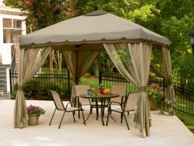 Pop Up Gazebo Pop Up Gazebo With Sides Canopy Tent Outdoor Patio Gazebo Backyard Gazebo