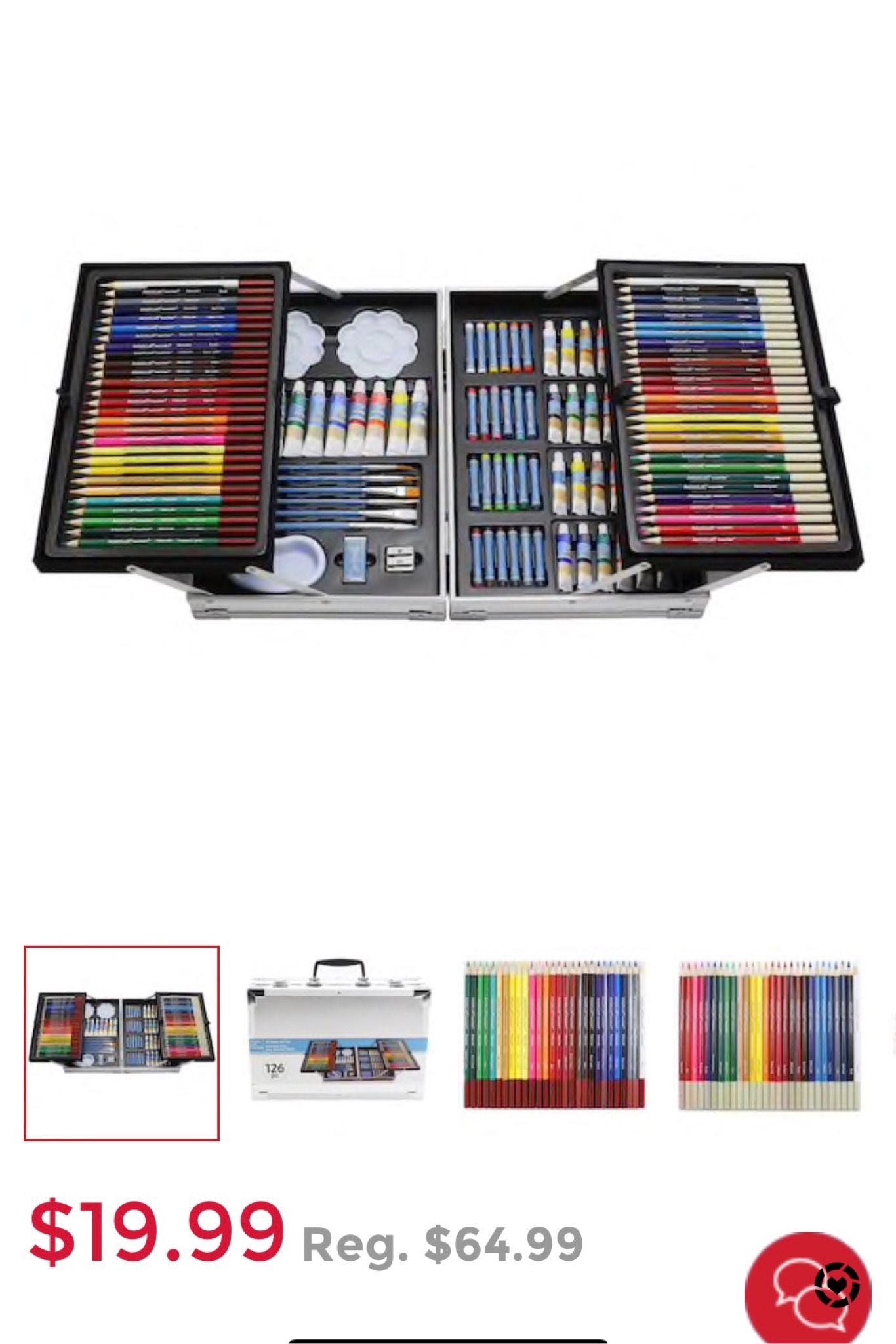 126 Pc T Art Set By Artist S Loft