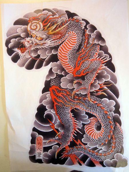 Tattoo Flash1 In 2020 Japanese Dragon Tattoos Japanese Tattoo Dragon Tattoo Art