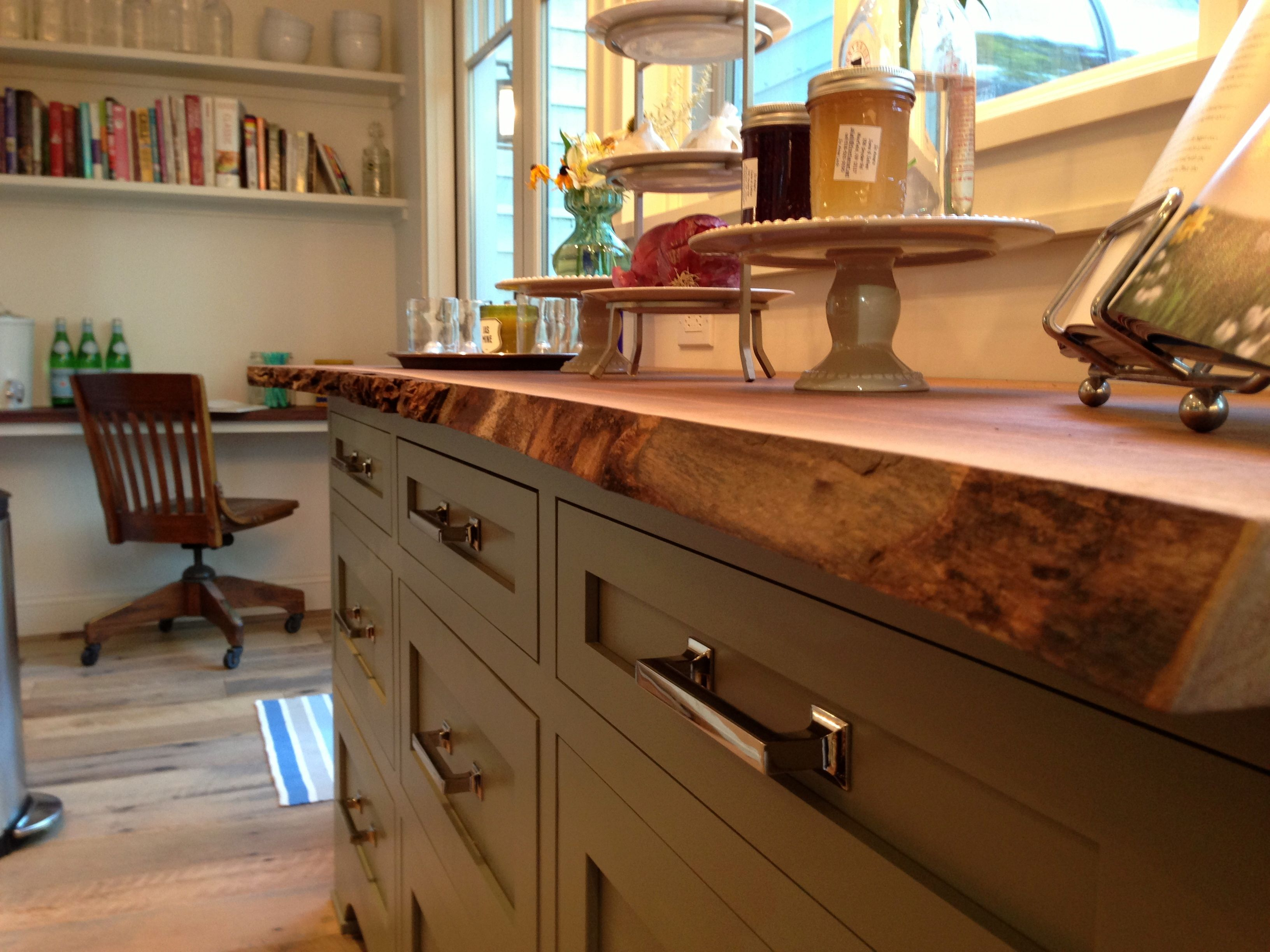 Lowes Walnut Kitchen Cabinets Image Result For Live Edge Countertops Kitchen Design