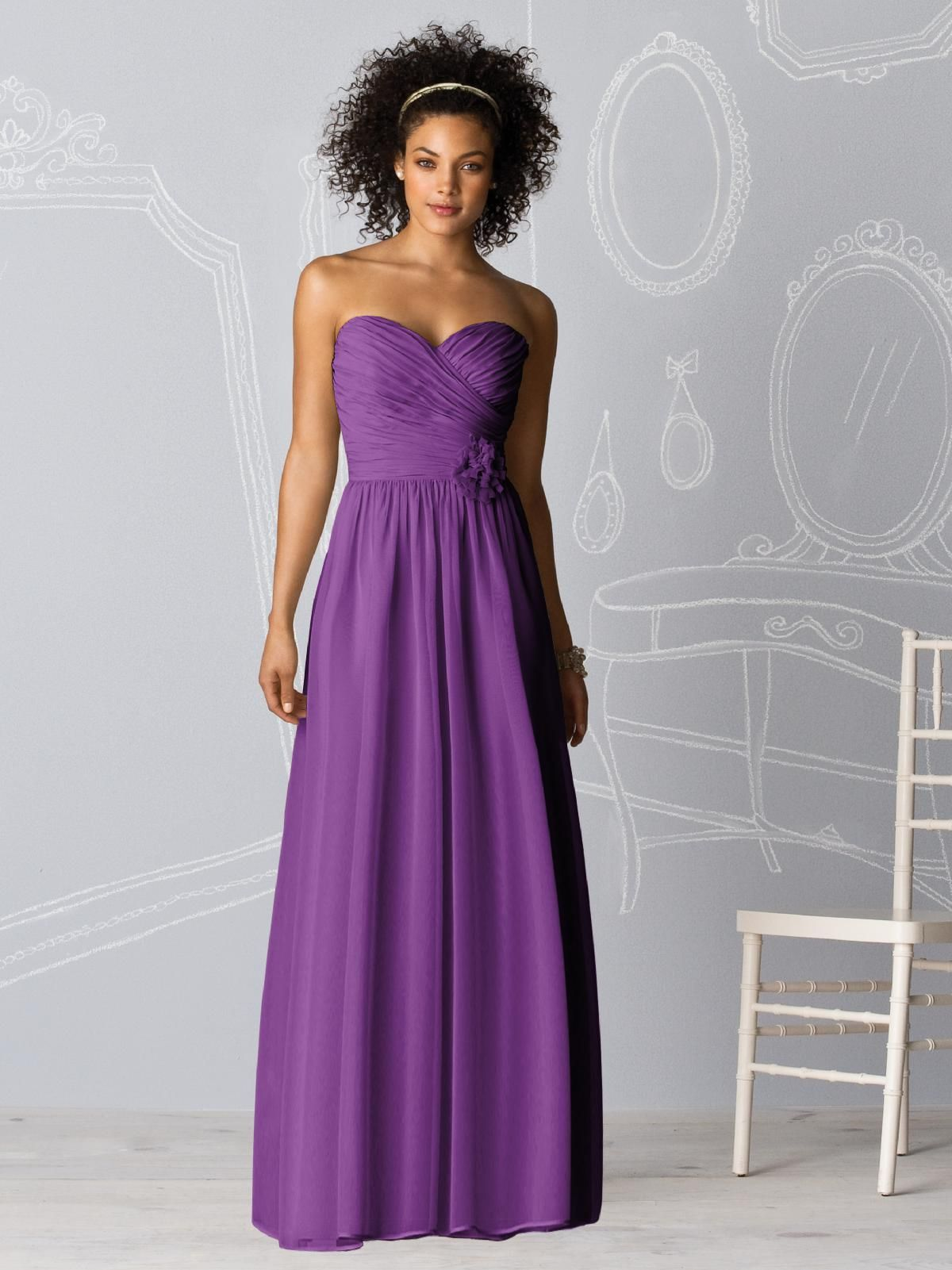 this dress comes in short and long lengths - also any color blue or ...