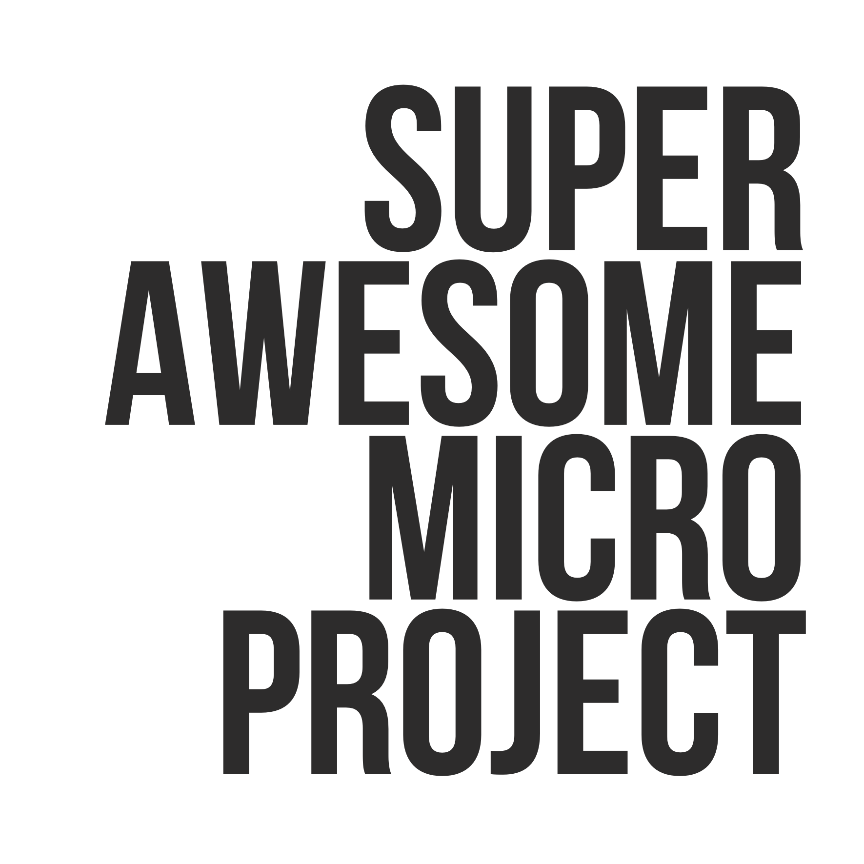 Super Awesome Micro Project - Stay Tuned #superawesomemicroproject