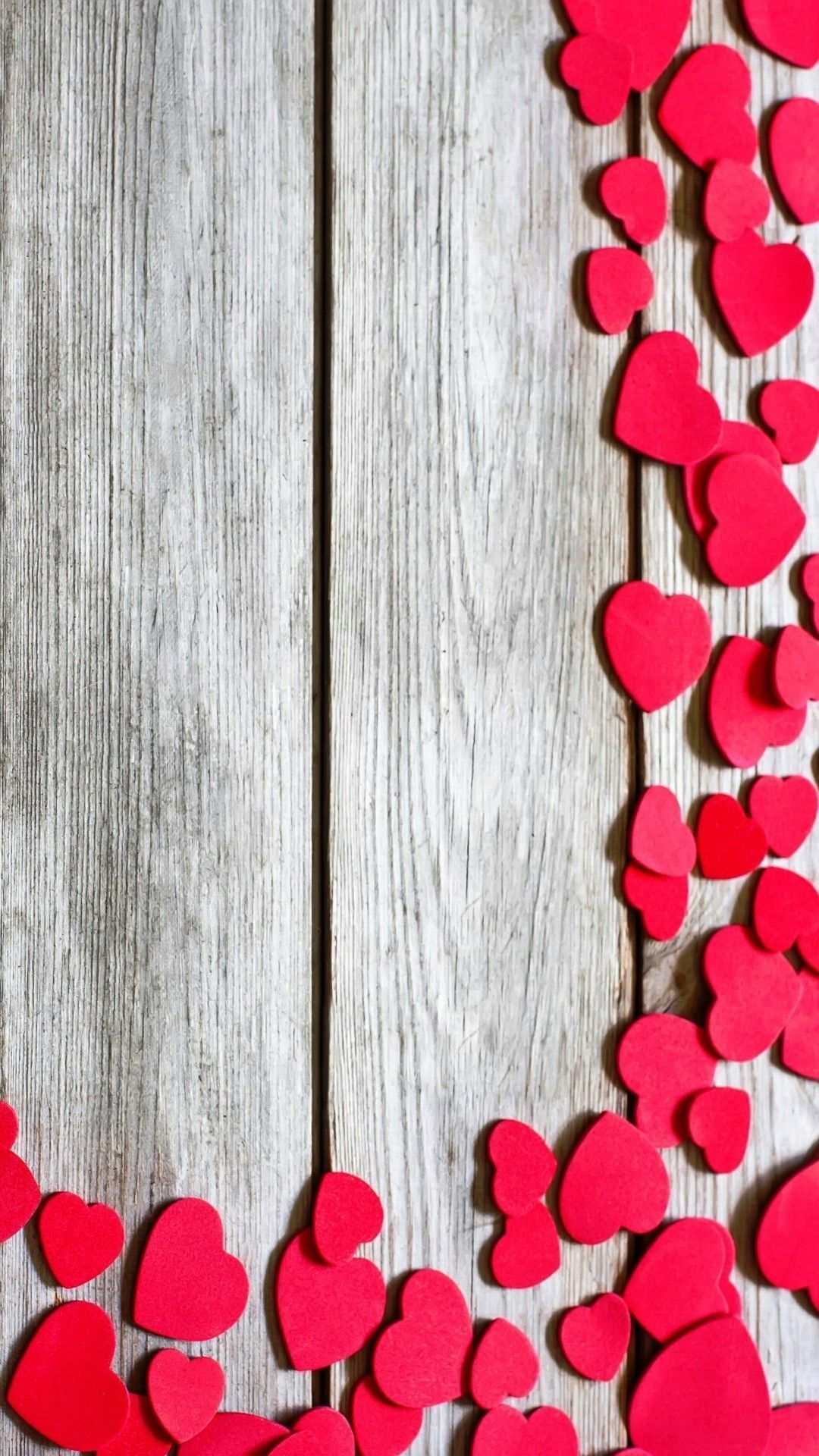 Hearts Wooden Wallpaper For Mobile Best Hd Wallpapers In Love In