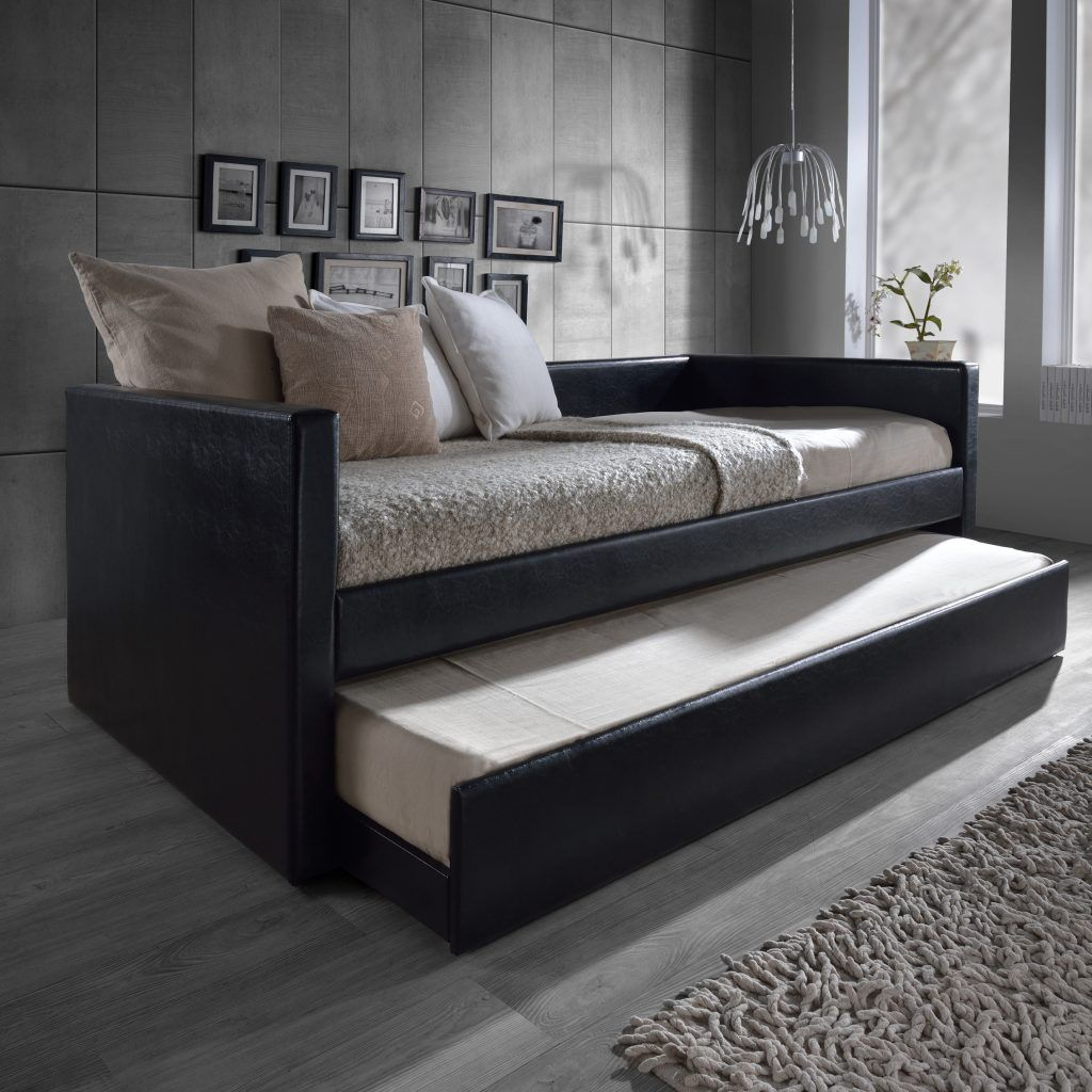 Platform Bed Twin Xl Daybed With Pop Up Trundle