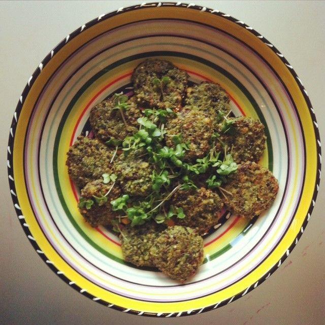 Een gezonde en verantwoorde borrelsnack serveren? Maak deze boerenkool/spinazieburgertjes en pak gelijk een extra portie vitamientjes mee! Ingrediënten voor de burgertjes: 2 handen spinazie...