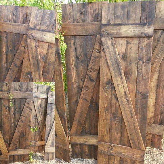 Z bar rustic wood shutters 48 decorative shutters for Indoor decorative shutters