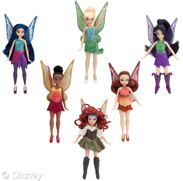 Disney Animators Tinkerbell Toddler PVC Figure Cake Topper Figurine Brand New