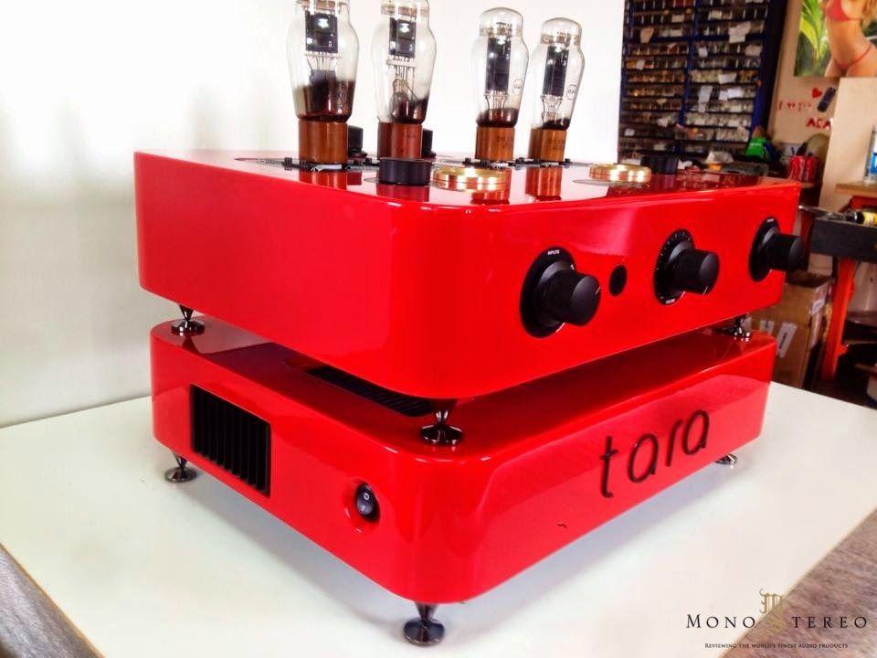 Trafomatic Audio Tara tube custom made preamplifier.