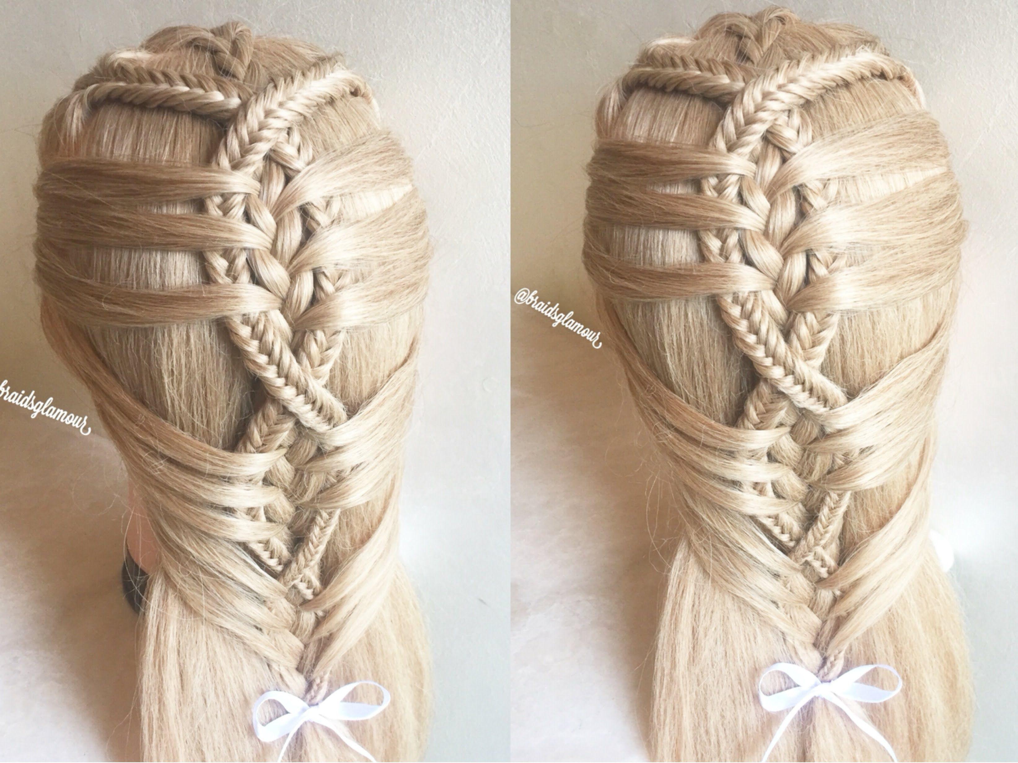 Unique Hair Styles: How To: Mermaid Twist