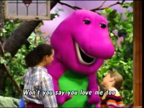 I Love You You Love Me Song With Barney I Love You Song Barney I Love You Kids Songs