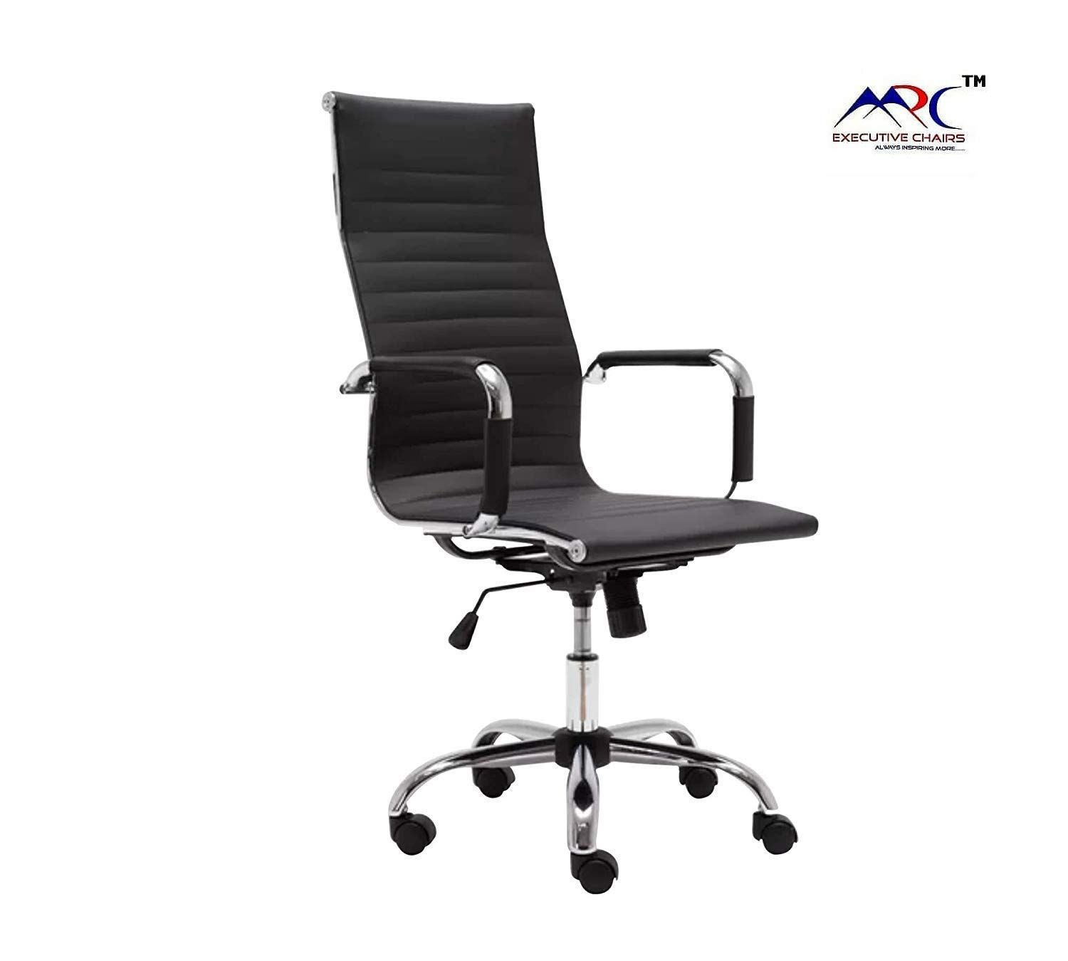 Product Dimensions Chair Height 44 5 48 Inches Seat Width 21 Inches Seat Depth 22 Inches Tilting Mechanism With Ch In 2020 Leather Chair Revolving Chair Chair