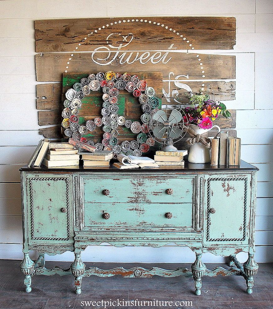 diy home decor revamped furniture idea box by lauri black shabby 2 12950