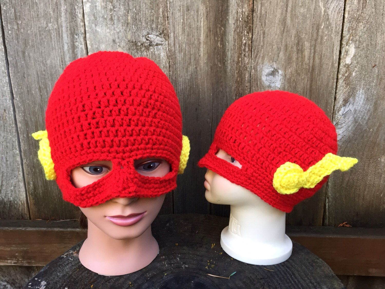 Flash. Crochet hat. Super Hero. by Danielascreations on Etsy https ...