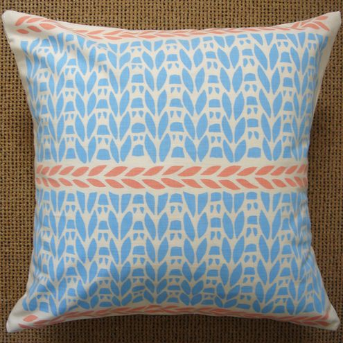 Knitting Pattern Cushion Cover Folksy Pretty Pinterest