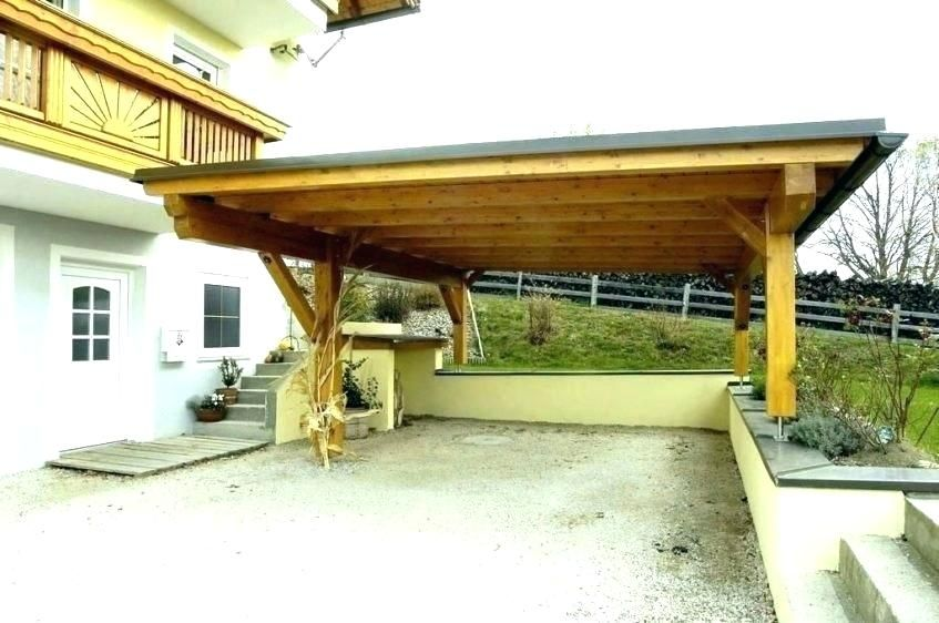 Carport Wooden Beams Enjooymart in 2020 (With images
