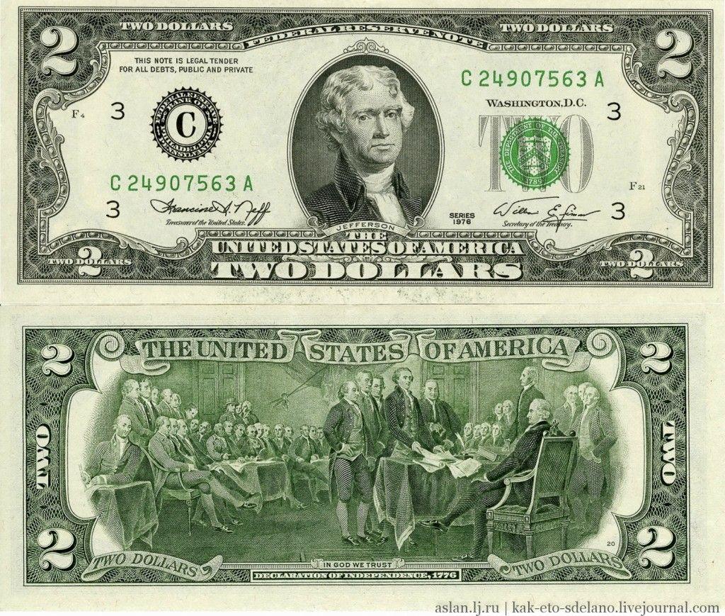 Making Of Us Dollar Money