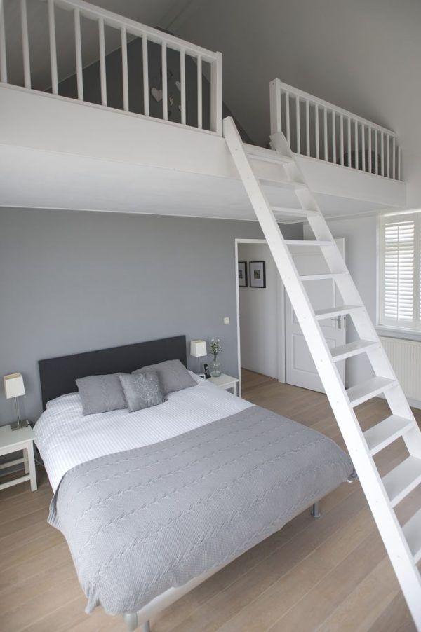Small Kids Room Loft Bed