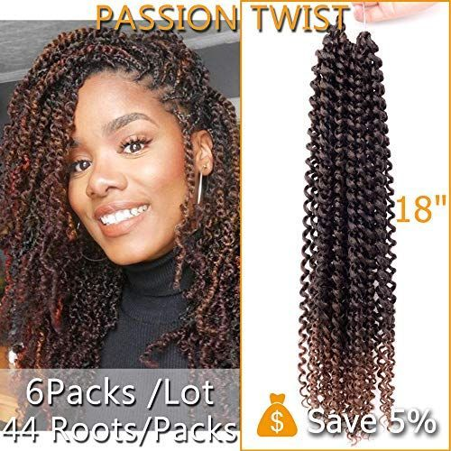 Best Seller NASIER Passion Twist Crochet Hair 2 Tones 18 Inches Long Bohemian Braids Passion Twist 6 Packs Water Wave Passion Twist Crochet Braids Braiding Hair 6 Packs/Lot (18 T1B/30) online #passiontwistshairstyle New NASIER Passion Twist Crochet Hair 2 Tones 18 Inches Long Bohemian Braids for Passion Twist 6 Packs Water Wave Passion Twist Crochet Braids for Braiding Hair 6 Packs/Lot (18 T1B/30). Fashion Wigs [$29.99] from top store allpremiumideas #passiontwistshairstylelong