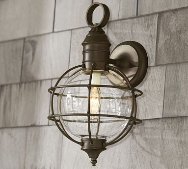 Fisherman's Sconce #potterybarn 9x9x15.5high/189 (With ...