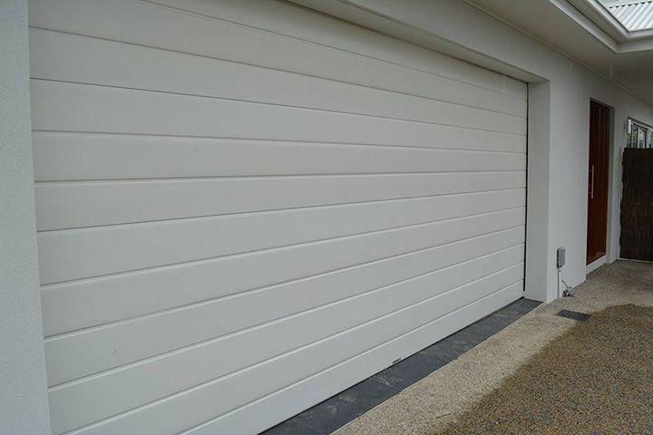 Slimline Surfmist In 2020 Garage Door Colors Garage Doors Garage Door Styles