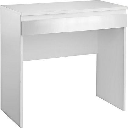 Hygena Harpur High Gloss 1 Drawer Dresser White At Homebase Be