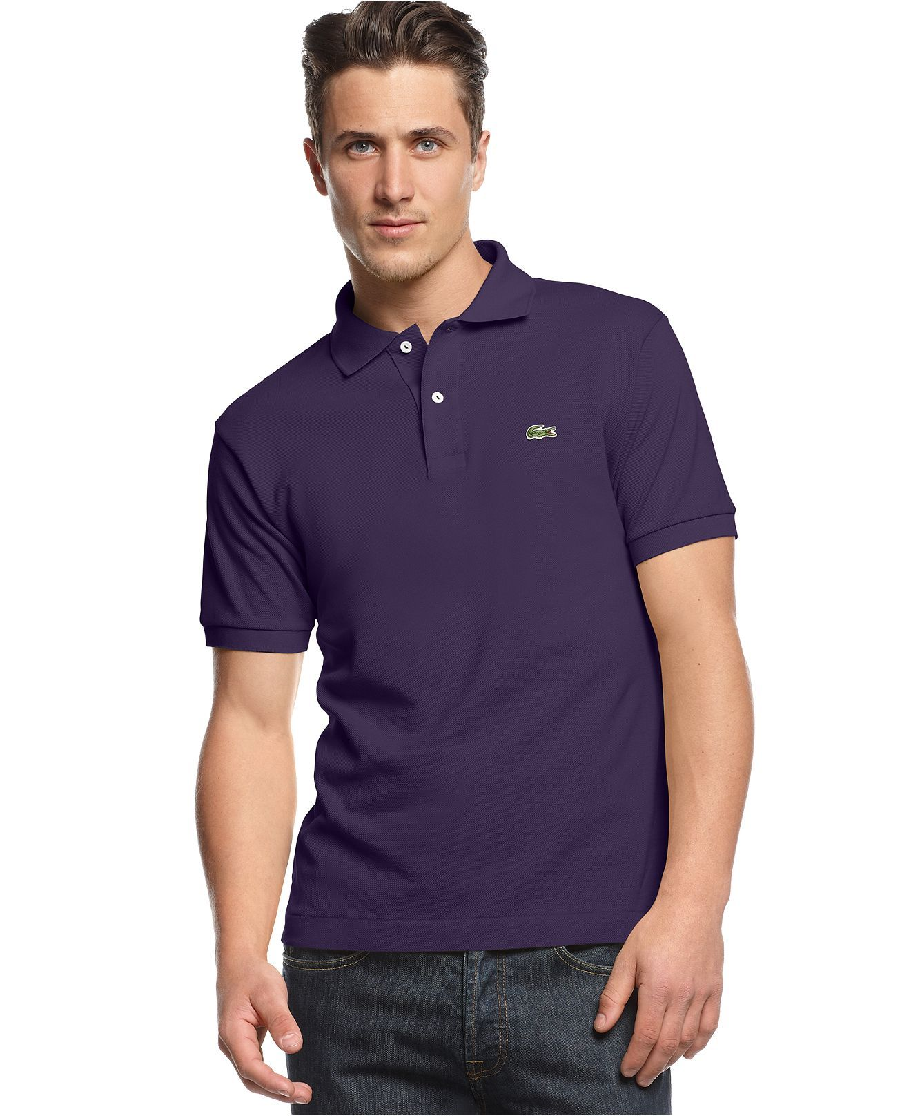 Lacoste shirt classic pique polo shirt mens polos for Lacoste big and tall polo shirts
