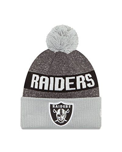 08e46a650 Mens Oakland Raiders New Era High Crown Structured Fit NFL Chase Gray 2  Tone 9FIFTY Snapback Cap