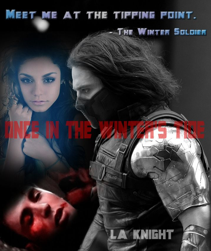 A promo poster for chapter one of my Winter Soldier fanfic, Once in the Winter's Tide (https://www.fanfiction.net/s/10558591/1/Once-in-the-Winter-s-Tide). Model for Sally Gardner is Vanessa Hudgeons.