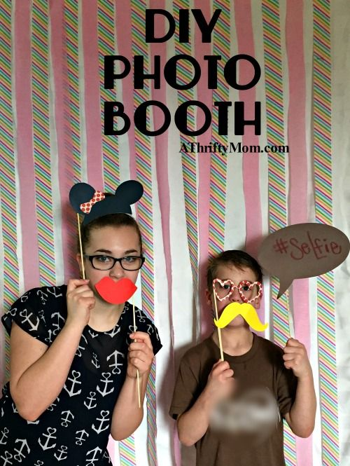 Diy Photo Booth Party Ideas Thrity