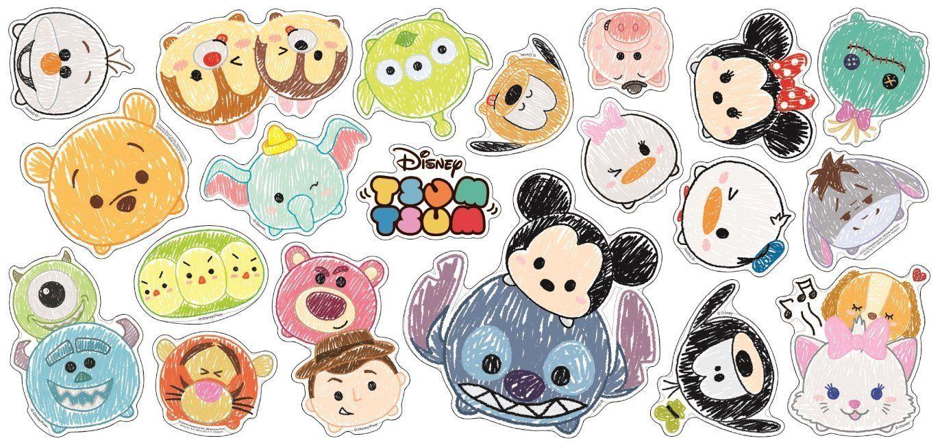 Disney Tsum Tsum Decoration Sticker 20 Elements Decals Disney Tsum Tsum Sticker Is Hd Wallpapers Back Sticker Decor Sticker Bomb Wallpaper Disney Tsum Tsum
