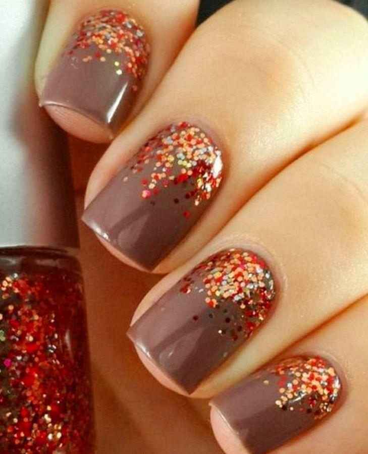 50+ Eyecatching Fall Nail Designs For Thanksgiving Ideas | Fun nails ...