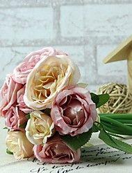 """Bridesmaid Bouquets Lu Lin Bouquet 5.9"""" Each Bouquet 9 Heads 3L 3M 3S"""