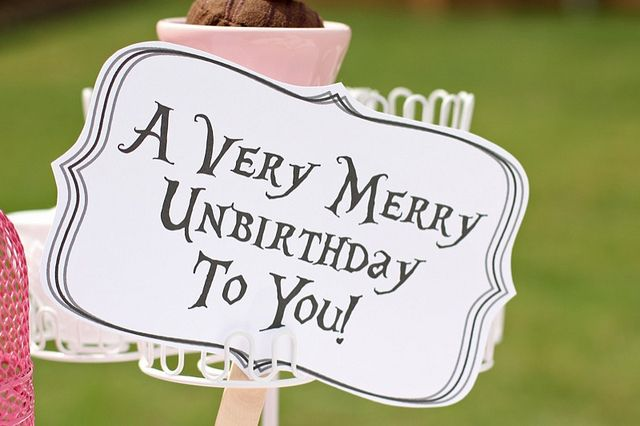 Image result for unbirthday party