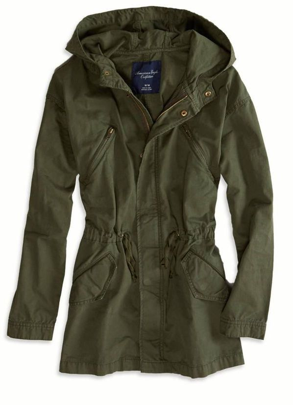 Olive Green Cargo Jacket Want One So Bad Clothing And