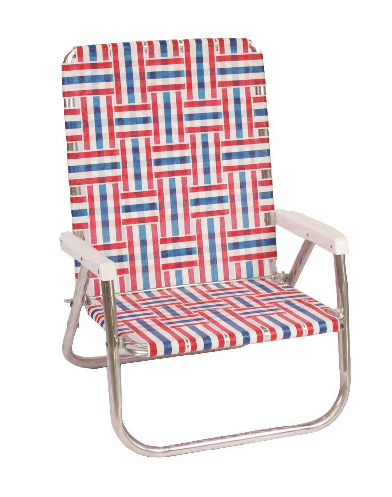Patriot High Back Beach Chair