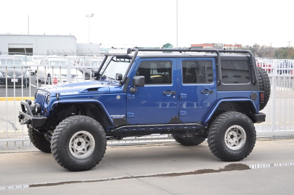 Big Blue Dana 60 Bigger Blue Jkowners Com Jeep Wrangler Jk