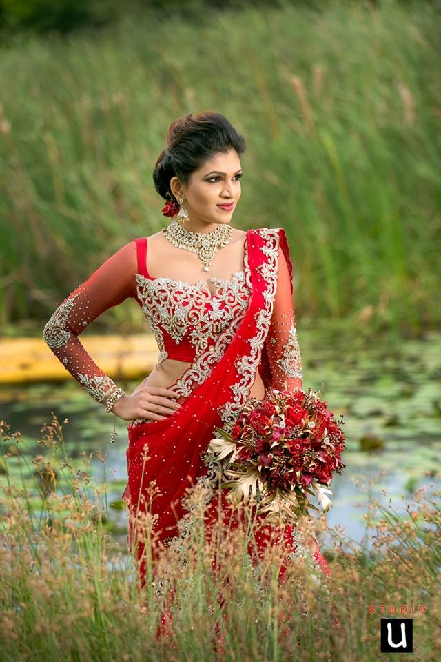 Pin by yashodara rathnathilaka on 2nd day brides for Wedding party dresses in sri lanka